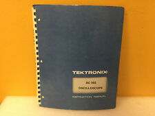Tektronix 070 1878 00 Sc502 Oscilloscope Instruction Manual