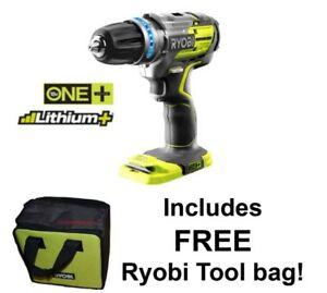 Ryobi-One-Plus-18V-Brushless-Combi-R18PDBL-Hammer-Drill-BARE-Tool