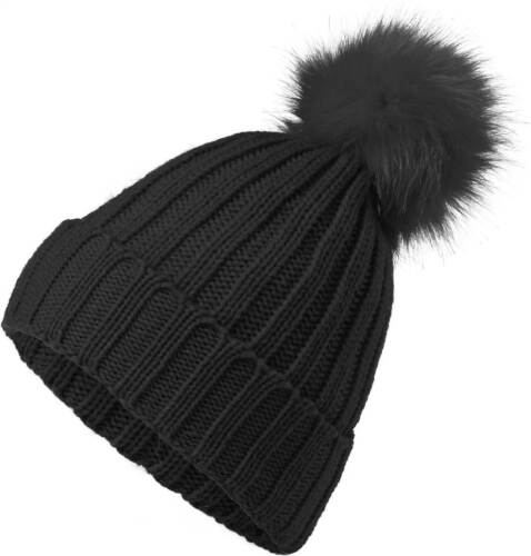 Punto señora sombrero invierno gorro llévense fellbommel lana acanalados-strickneverless ®
