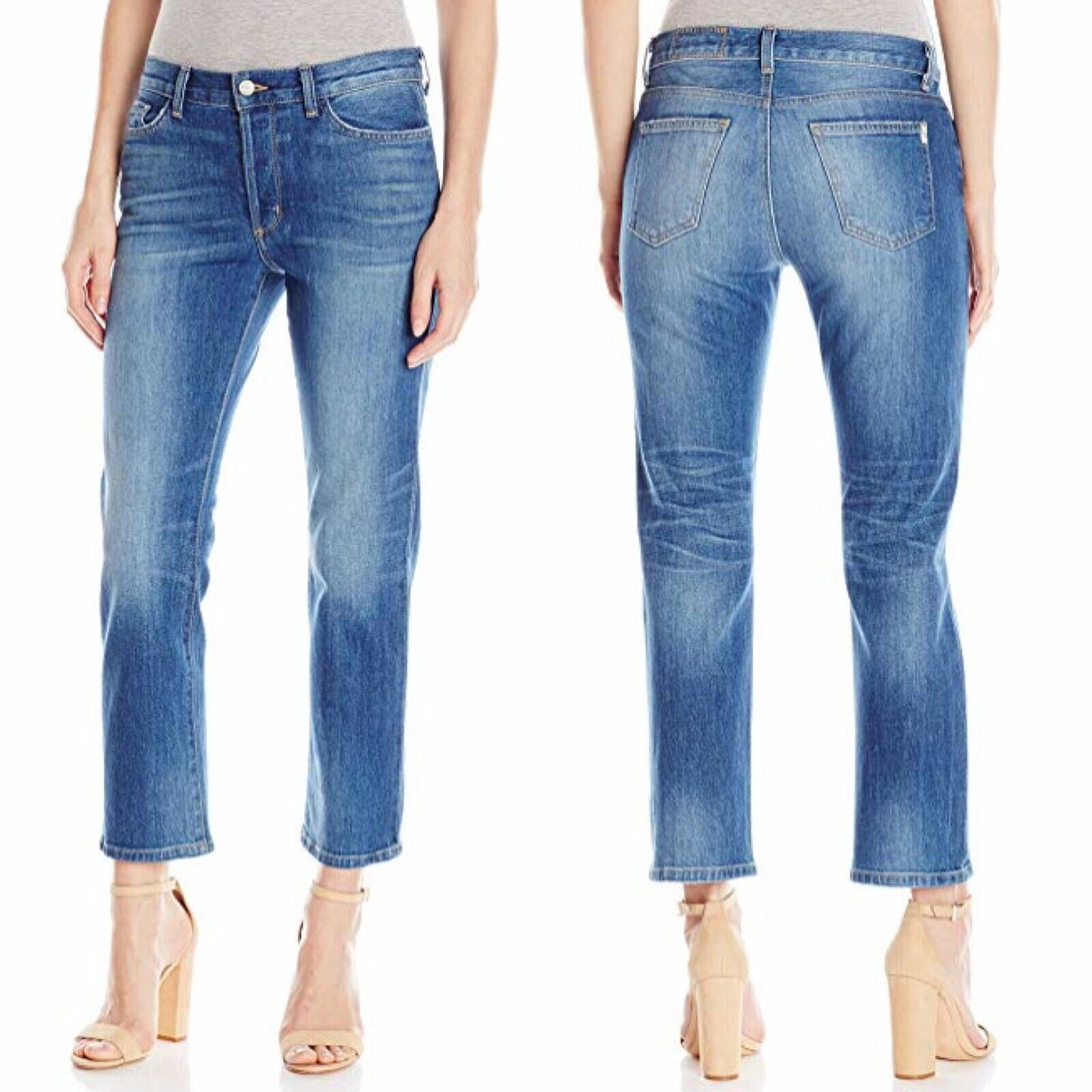 Siwy Jane B Crop Coupe Droite Jeans Dans Live Wire taille 26 Retail  179