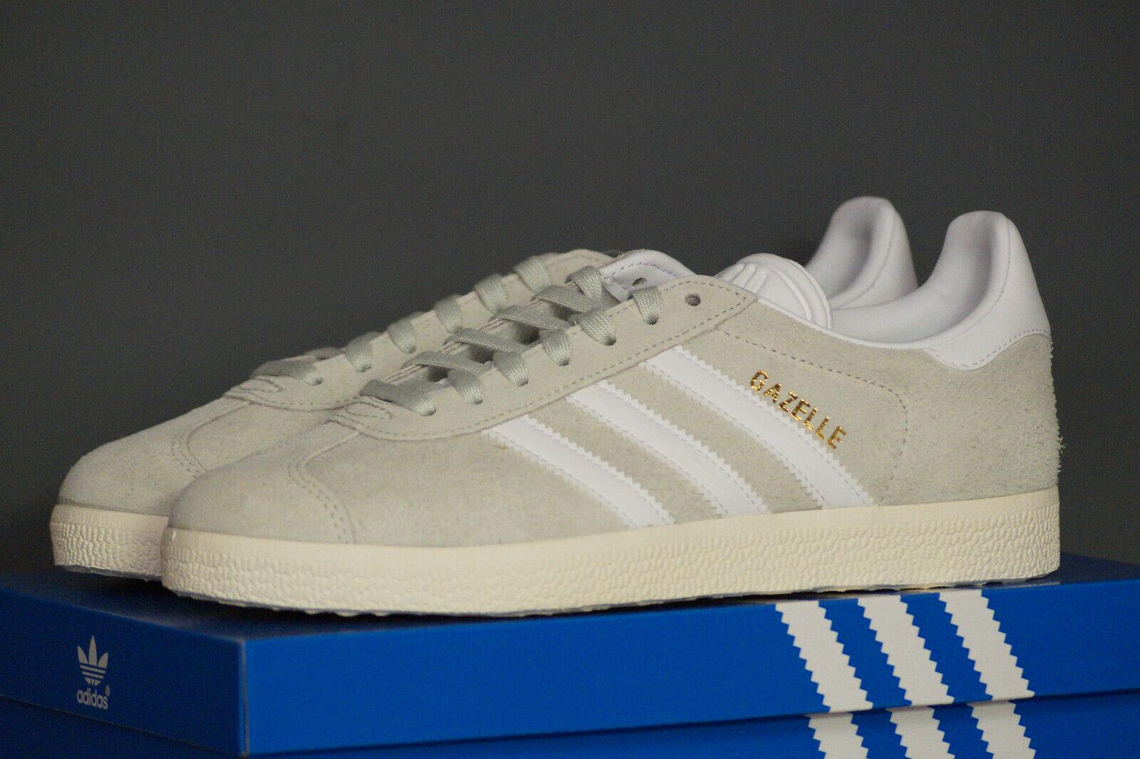 Adidas Originals gacela UE 36.6 UK 4 linen verde bz0023 serraje Suede zapatillas