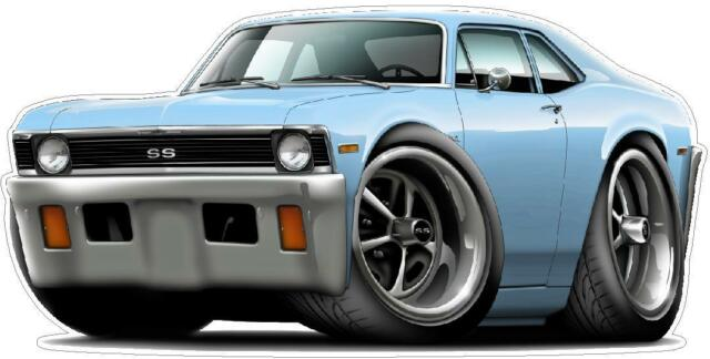buy 71-72 chevy nova ss 350 turbo fire muscle car wall graphic decal