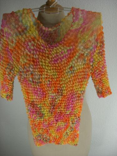 Bluse Damenbluse crinkle crash original sweetwater fashion Kurzarm  neu CB007