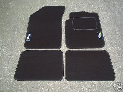 1998-2005 Car Mats in Black to fit Renault Clio Mk2 Cup 182 Logos