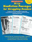 Hi-Lo Nonfiction Passages for Struggling Readers: Grades 4-5: 80 High-Interest/Low-Readability Passages with Comprehension Questions and Mini-Lessons for Teaching Key Reading Strategies by Scholastic US(Paperback / softback)