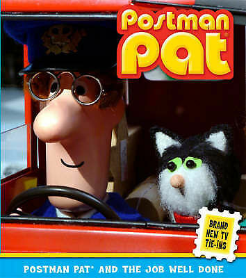 Postman Pat and the Job Well Done by John Cunliffe, Good Book (Paperback) Fast &