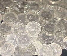 100 Coins LOT - 1969 - Mahatma Gandhi  Nickel 50 Paise Commemorative india