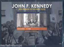 SIERRA LEONE 50th MEMORIAL ANNIVERSARY OF JOHN F. KENNEDY SOUVENIR SHEET MINT NH