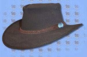 Cappelli Cowboy Cappello Cespuglio Fatto Aussie caccia Da Pelle Cutana xPwvHAqan