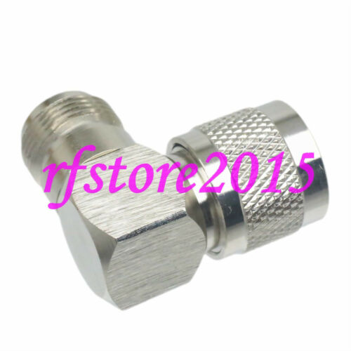 1pce Adapter Connector UHF PL259 male plug to N female 90° for Vehicle antenna