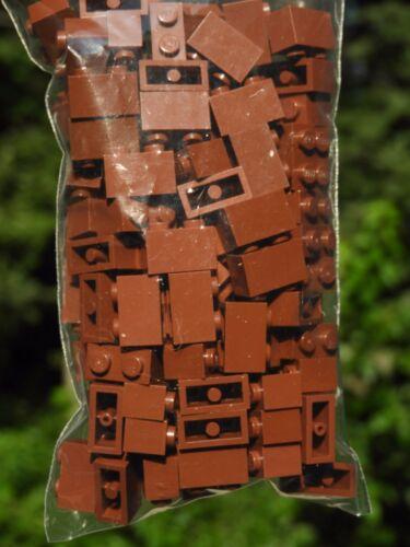Genuine LEGO Bulk Lot of 100x 1x2 Bricks-WHITE-Part Number 3004-Gently Used
