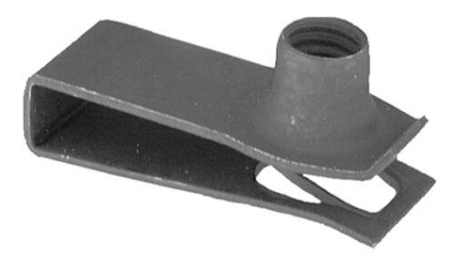 4mm-7mm Range M8-1.25 Screw Size 25 Qty-Extruded U Nut 18401