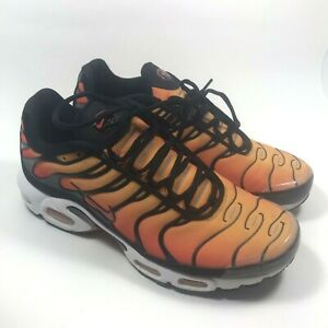 Nike Air Max Plus Tn og Sunset Negro Blanco Naranja Para