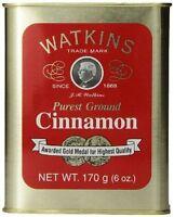 Watkins Ground Cinnamon 6 Oz. - Fast Free Shipping