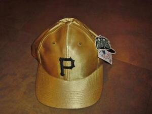 8eae42f88ca72f Pittsburgh Pirates hat GOLD snapback VINTAGE 90s Mint nwt NEW w/ tag ...