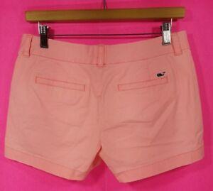 Women S Vineyard Vines Baby Pink Short Shorts Size 2 Ebay
