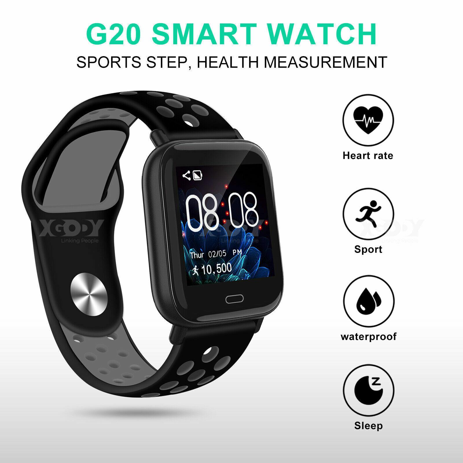 XGODY Heart Rate Smart Watch Blood Pressure/Oxygen Sports Bracelet Touch Screen blood bracelet Featured heart rate screen smart sports touch watch xgody