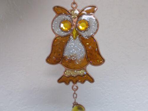 G99369 OWL WIND CHIME WINDCHIME GSC