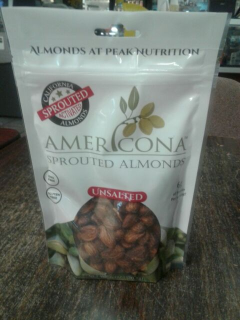 Americona - Sprouted Almonds Salted for