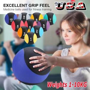 Weighted-Medicine-Ball-Fitness-Muscle-Full-Body-Workout-1-2-3-4-5-6-7-8-9-10-KG