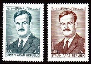 Siria-Syria-1972-mi-1208-09-Hafis-al-assad-presidente-President-Portrait