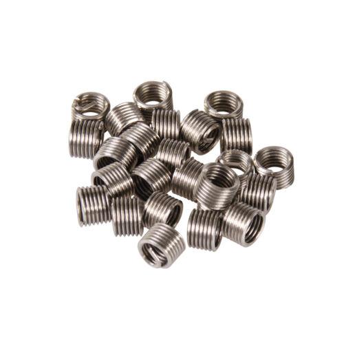 Genuine Silverline Helicoil Type Thread Inserts M5 x 0.8mm x 1D 25pk234567