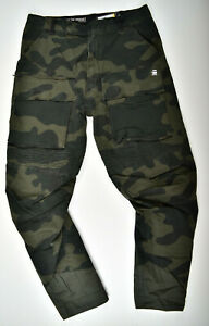 G-Star-RAW-Vodan-Tapered-W31-L32-Camouflage-Jeans-Cargohose-Samples