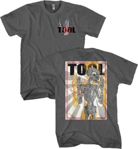 XL M 2XL Charcoal T-Shirt L Tool Spectre Burst// Skeleton S