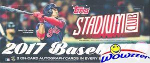2017 Topps Stadium Club Baseball Factory Sealed HOBBY Box-128 Cards+2 AUTOGRAPHS