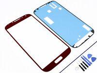 FRONTGLAS für SAMSUNG Galaxy S4 Rot Glas Display Touchscreen NEU & OVP