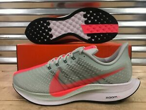 73295288a66f0 Nike Air Zoom Pegasus 35 Turbo Running Shoes Barely Grey Punch SZ ...