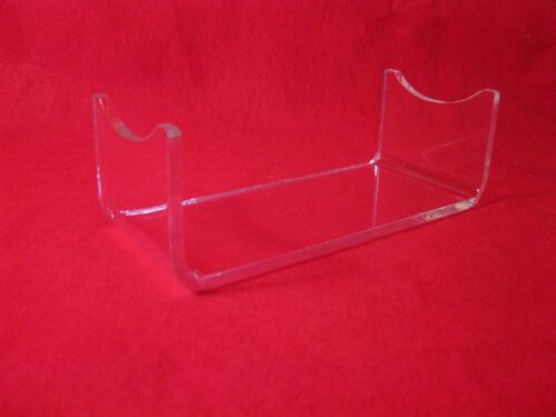 """FIVE Acrylic 7/"""" X 3/"""" Civil War Artillery Shell Or Wine Bottle Display StandS"""