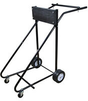 315 Lb Outboard Boat Trolling Motor Stand Carrier Cart Dolly Storage Heavy Duty on Sale