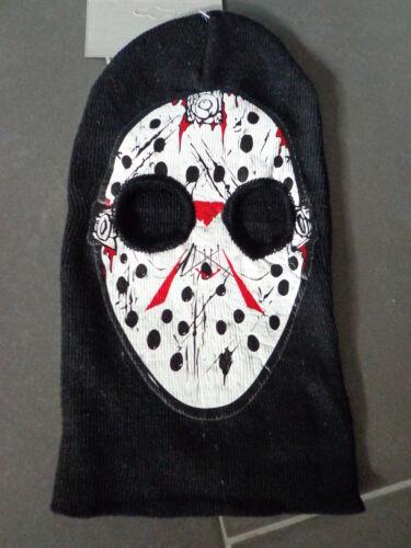 Horror Halloween MASCHERA PIRATA NERO-TESCHIO Jason Zombie BERRETTO Morti Cranio