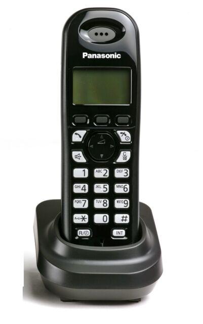Panasonic KX-TG7301 Additional DECT Digital Cordless Phone Telephine Black