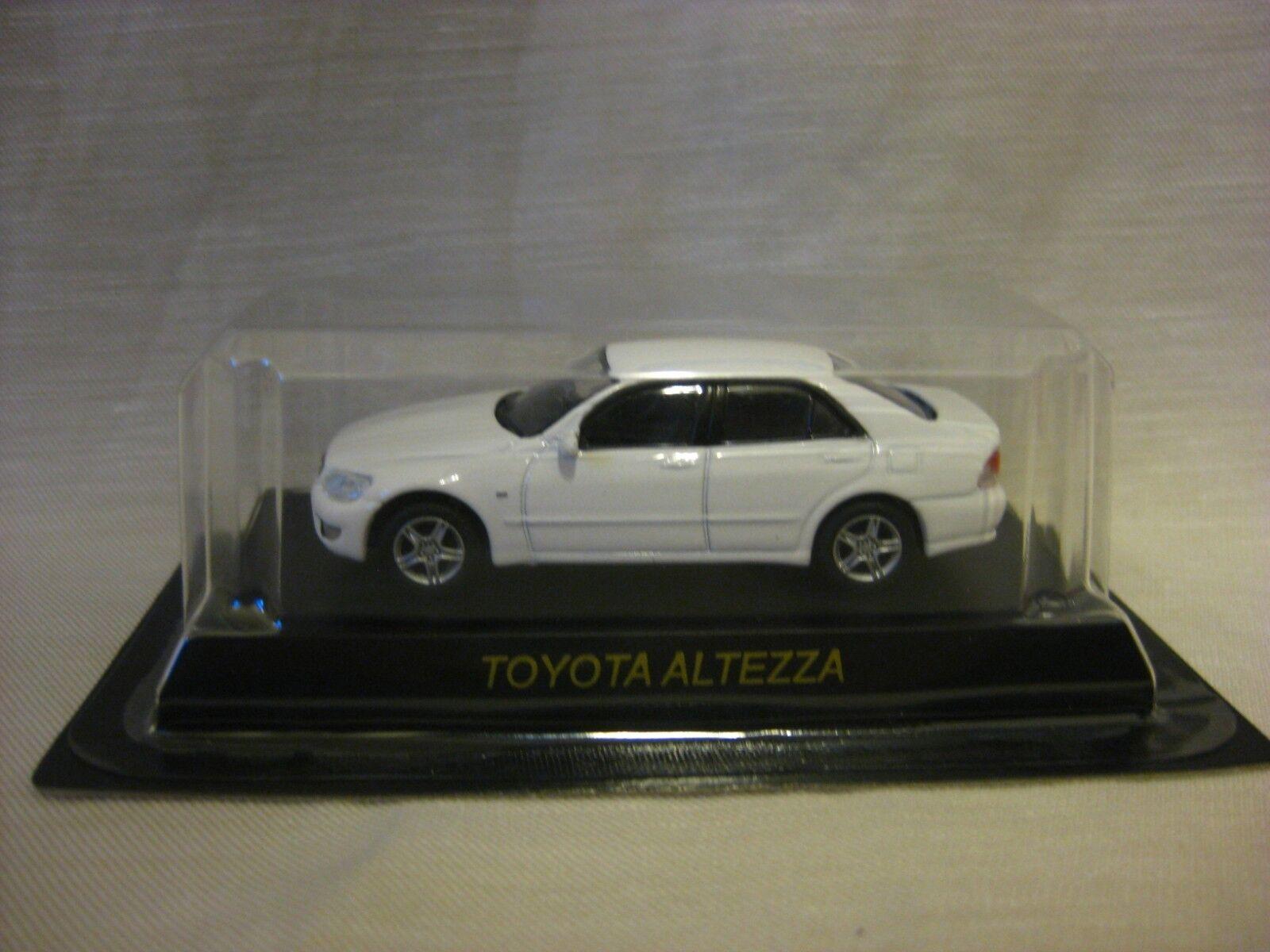 1 64 Kyosho Toyota Altezza blancooo Coche Modelo Diecast