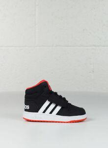 Mid Enfant Blkwhtred Hoops 26 Chaussure 0 Bas En Adidas Âge 2 xXIp7w