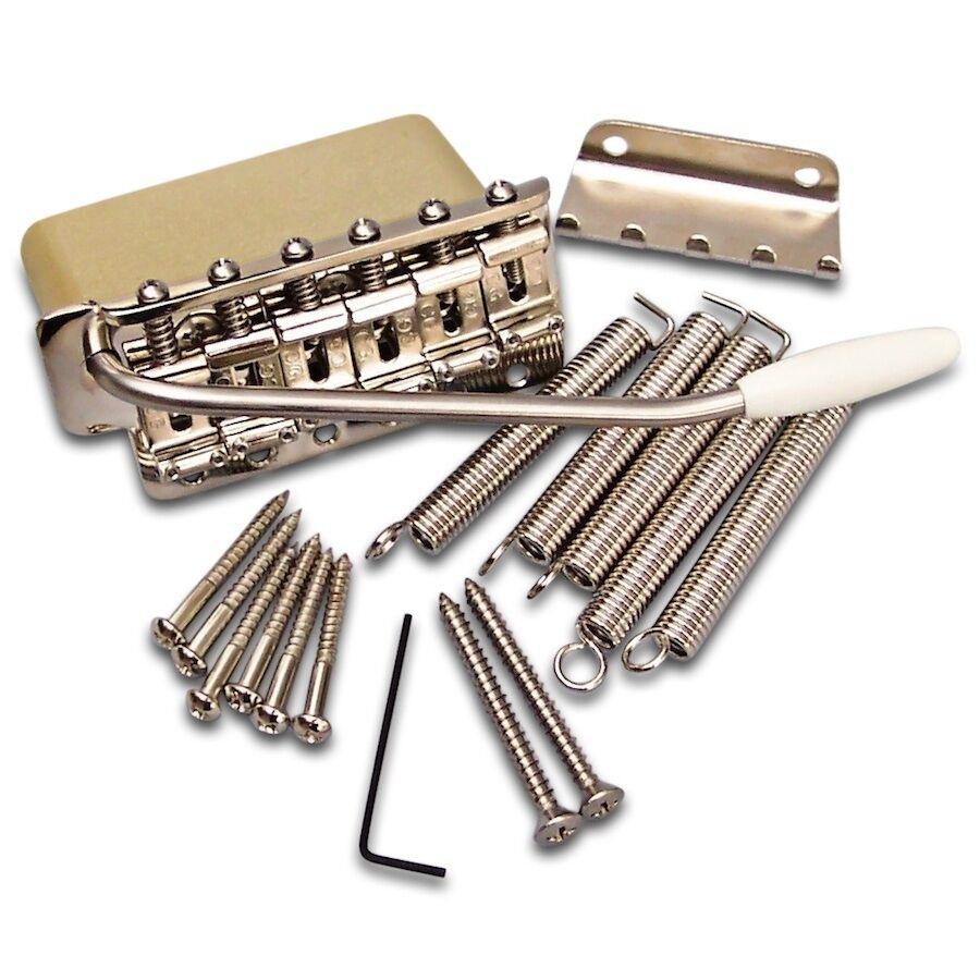 Specialty Guitars Exclusive  Callaham Pre-CBS Strat Bridge Assembly Brass Block