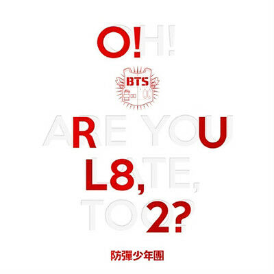 BTS-[O!RUL8,2?] 1st Mini Album CD+2p Photo Card+79p Booklet+ Poster+1p Gift Card