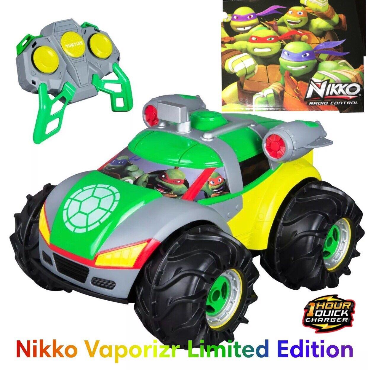 Nikko Vaporizr 2 Limited Teenage Turtles RC Edition AUTO LAND ACQUA NEVE 4x4