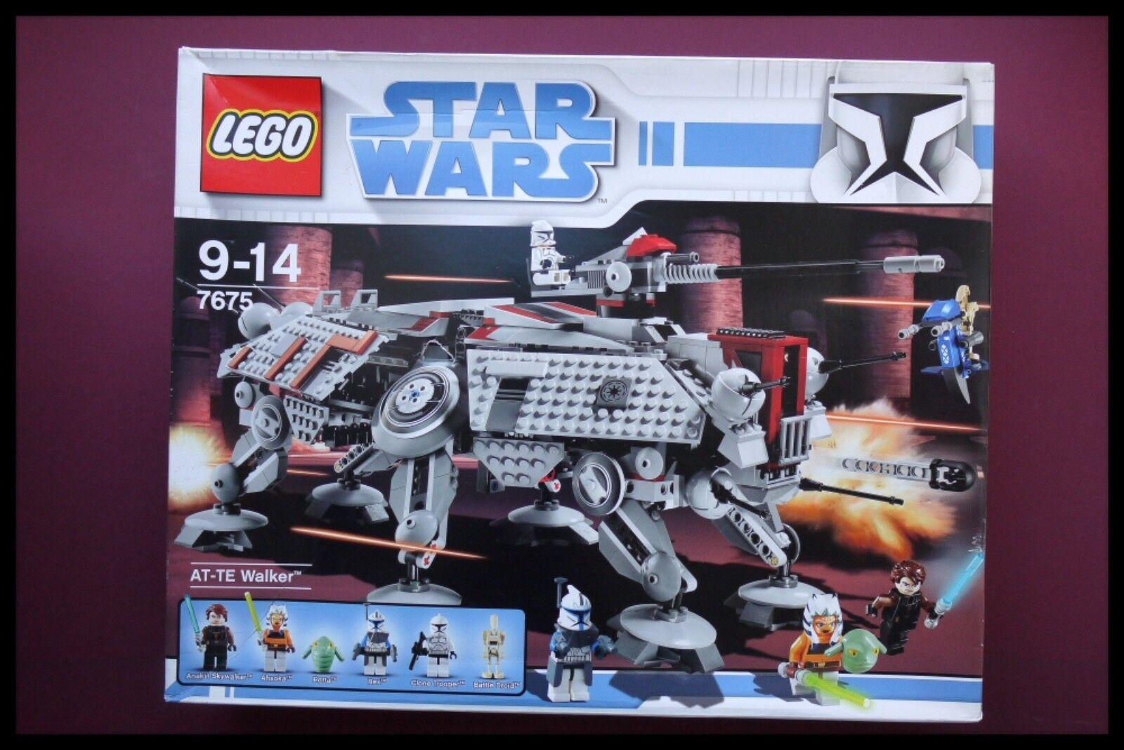 LEGO  estrella guerras 7675 at-te Walker  Clone guerras  in pensione, estremamente raro non aperto  consegna rapida