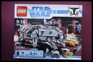 LEGO-STAR-WARS-7675-AT-TE-Walker-Clone-Wars-RETIRED-EXTREMELY-RARE-UNOPENED