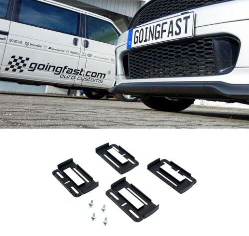 Pour Ford 2x simple Fix Plaque Support Support de plaque d/'immatriculation Support Uni Voiture Véhicule