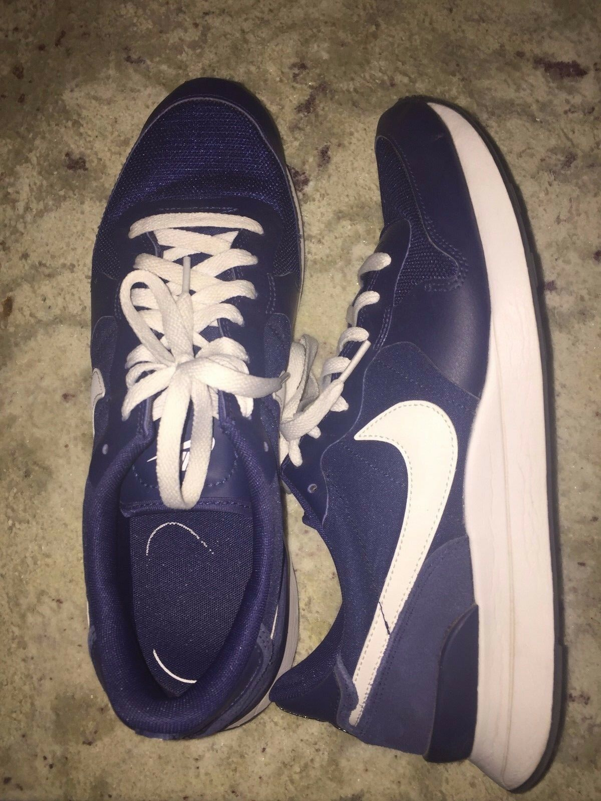 Mens Nike Internationalist Sneakers Blue White Sz US 10.5 Running Sport Training