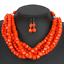 Women-Bohemian-Choker-Chunk-Crystal-Statement-Necklace-Wedding-Jewelry-Set thumbnail 136