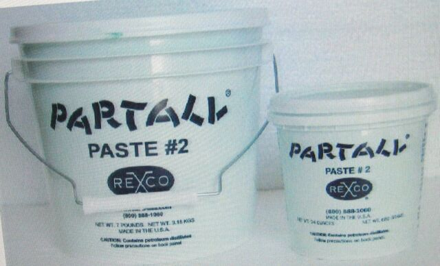 Rexco Partall #2 Paste Wax Mold Release, 7 lb Tub