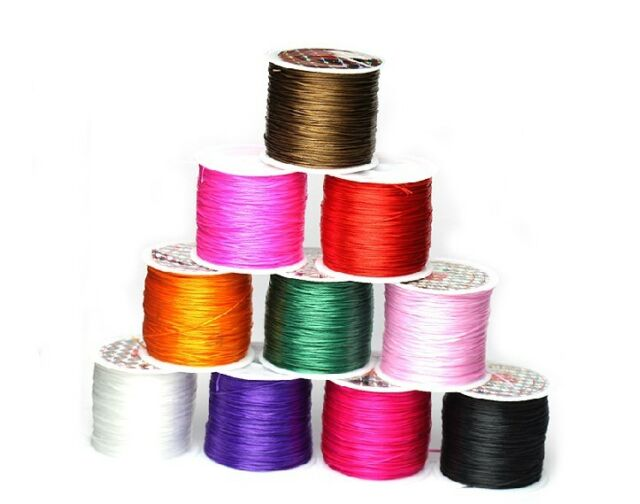 10m Multicolor Elastic Crystal Jewelry Making Cord Line
