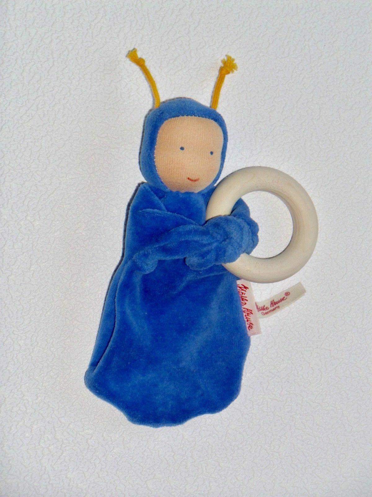 Käthe Kruse 74216 Schmusetuch Puppe Nickibaby Gelb Neu /& Ovp