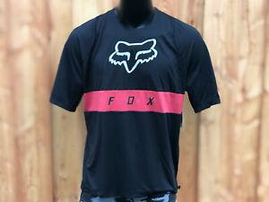 Fox Racing 2019 défendre à manches longues L//S Fox Jersey Noir