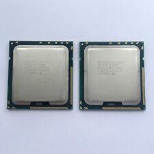 2x Intel Xeon X5675 3,06 GHz SLBYL 6-Core Sockel 1366 Prozessor Matched Pair